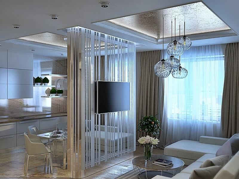 Зеркальные панели в интерьере квартир фото