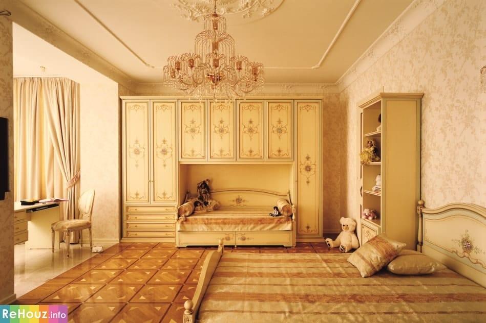 Классический стиль в интерьере детской комнаты