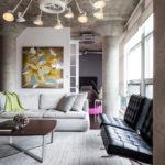 Дизайн интерьера в индустриальном стиле - фото (10)