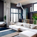 Дизайн интерьера в индустриальном стиле - фото (16)