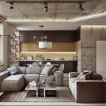 Дизайн интерьера в индустриальном стиле - фото (23)