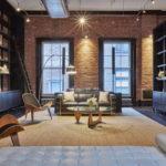 Дизайн интерьера в индустриальном стиле - фото (24)
