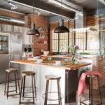 Дизайн интерьера в индустриальном стиле - фото (25)
