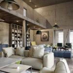 Дизайн интерьера в индустриальном стиле - фото (3)