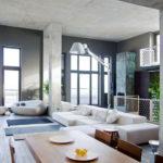 Дизайн интерьера в индустриальном стиле - фото (30)
