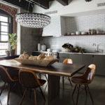Дизайн интерьера в индустриальном стиле - фото (33)