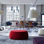 Дизайн интерьера в индустриальном стиле - фото (35)
