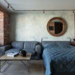 Дизайн интерьера в индустриальном стиле - фото (37)