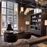 Дизайн интерьера в индустриальном стиле - фото (38)