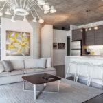 Дизайн интерьера в индустриальном стиле - фото (39)