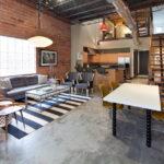 Дизайн интерьера в индустриальном стиле - фото (5)