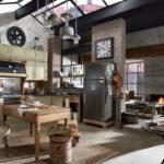 Дизайн интерьера в индустриальном стиле - фото (6)