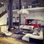 Дизайн интерьера в индустриальном стиле - фото (7)