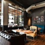 Дизайн интерьера в индустриальном стиле - фото (8)