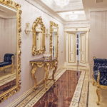 Дизайн интерьера в стиле барокко - фото (12)