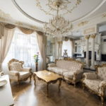 Дизайн интерьера в стиле барокко - фото (13)