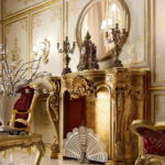 Дизайн интерьера в стиле барокко - фото (15)