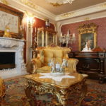 Дизайн интерьера в стиле барокко - фото