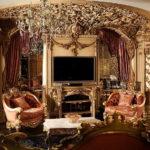 Дизайн интерьера в стиле барокко - фото (16)