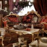 Дизайн интерьера в стиле барокко - фото (24)