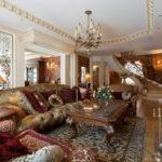 Дизайн интерьера в стиле барокко - фото (27)