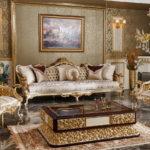 Дизайн интерьера в стиле барокко - фото (29)