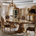 Дизайн интерьера в стиле барокко - фото (30)