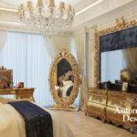 Дизайн интерьера в стиле барокко - фото (7)