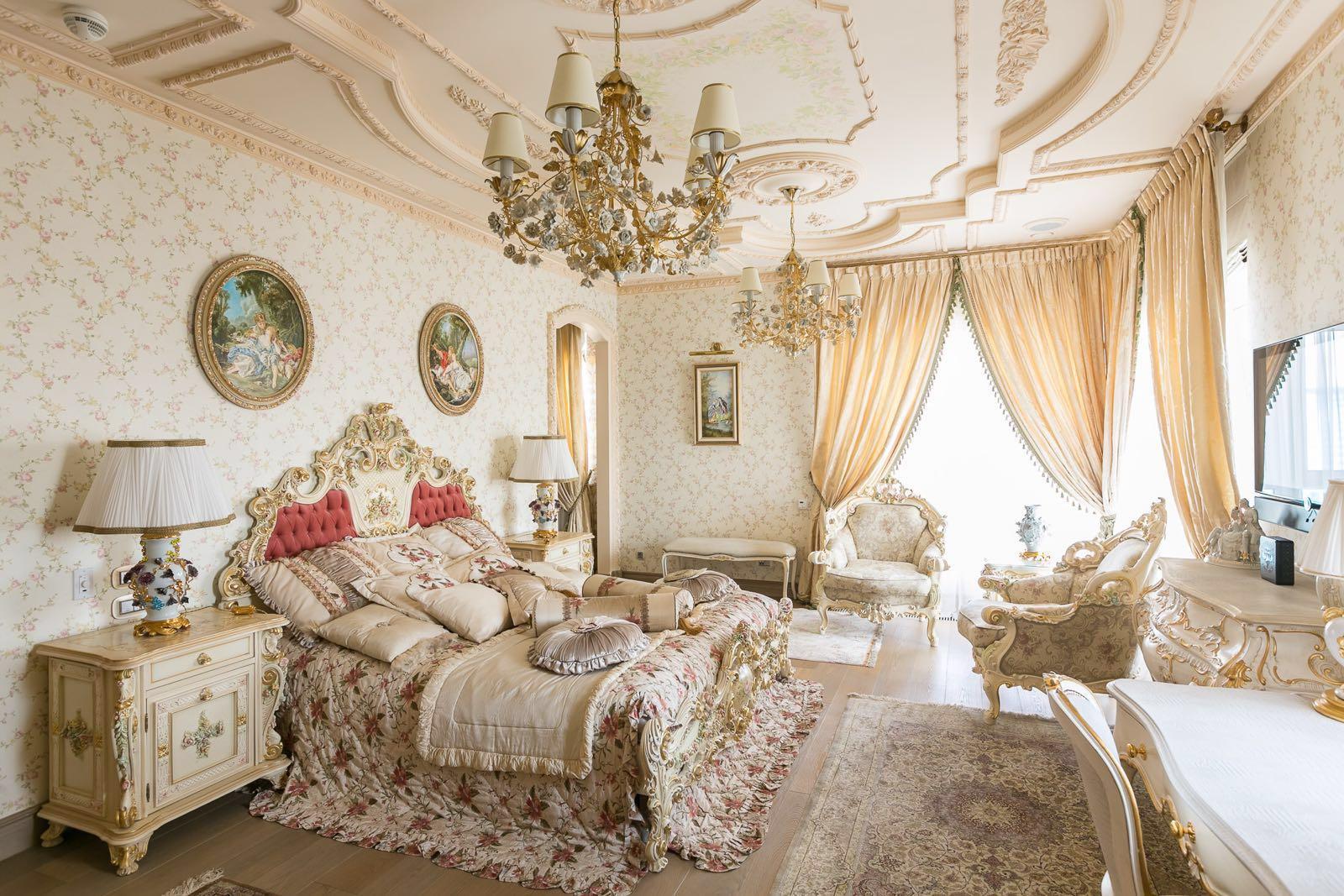 ремонт квартир в стиле барокко фото керамогранитной