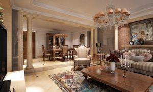 Античный стиль в интерьере гостиной фото