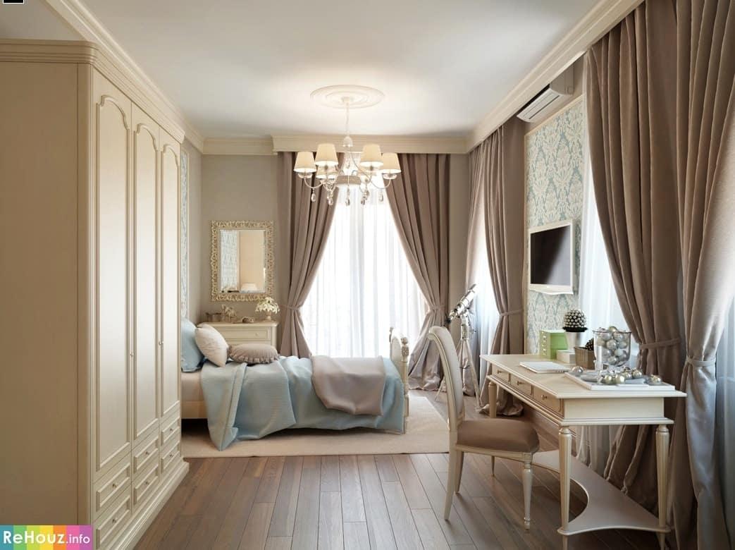 Дизайн штор для спальни: идеи, виды штор, фото Дом