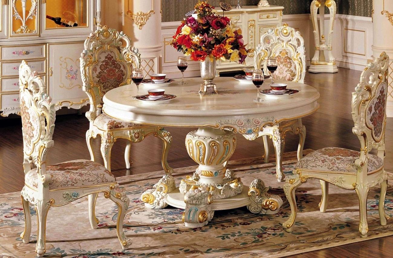 бароккко в интерьере : мебель
