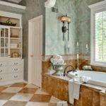 Античный стиль в интерьере ванной комнаты