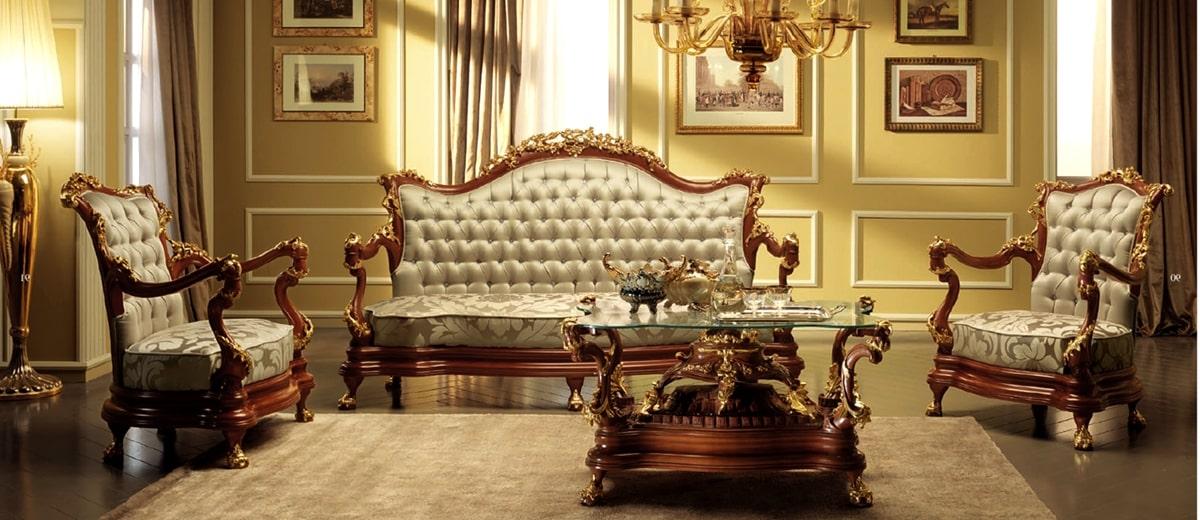 ампир в интерьере - мебель