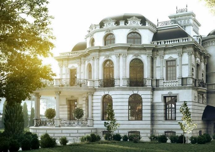 Архитектурные стили - барокко