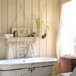 Ванная в стиле шебби шик - фото (5)
