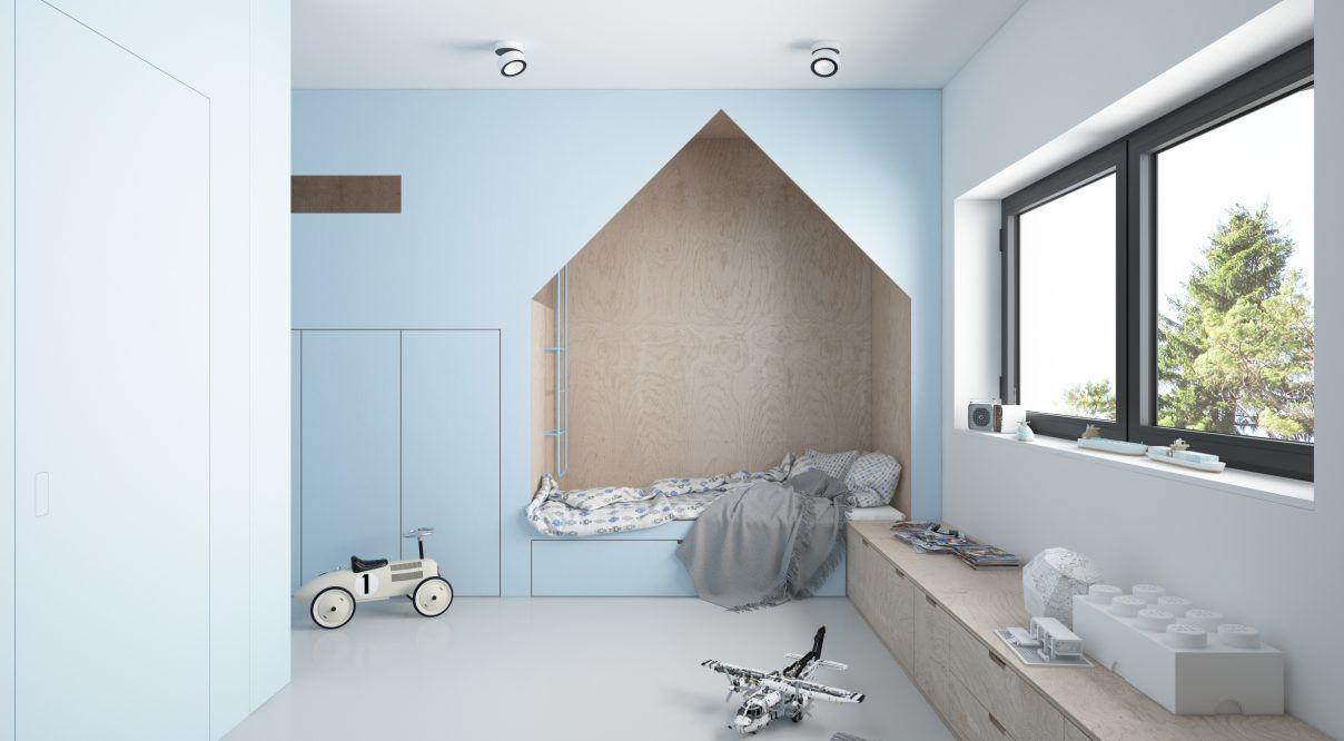 Дизайн детской в стиле минимализм