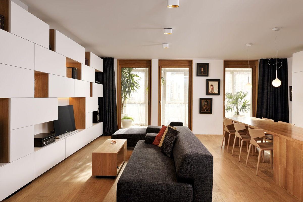Дизайн интерьера в стиле конструктивизм - фото
