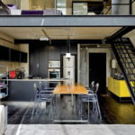 Дизайн интерьера в стиле лофт - фото (12)