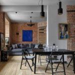 Дизайн интерьера в стиле лофт - фото (5)