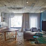 Дизайн интерьера в стиле лофт - фото (6)
