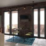 Дизайн интерьера в стиле лофт - фото (9)