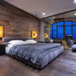 Дизайн интерьера спальни в стиле лофт - фото (2)