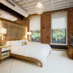 Дизайн интерьера спальни в стиле лофт - фото (7)