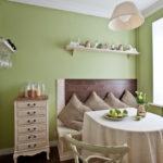 Дизайн кухни в стиле шебби шик - фото (2)