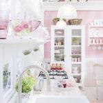 Дизайн кухни в стиле шебби шик - фото (3)