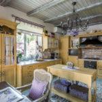 Дизайн кухни в стиле шебби шик - фото (4)