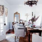Дизайн столовой зоны в стиле шебби шик - фото (2)