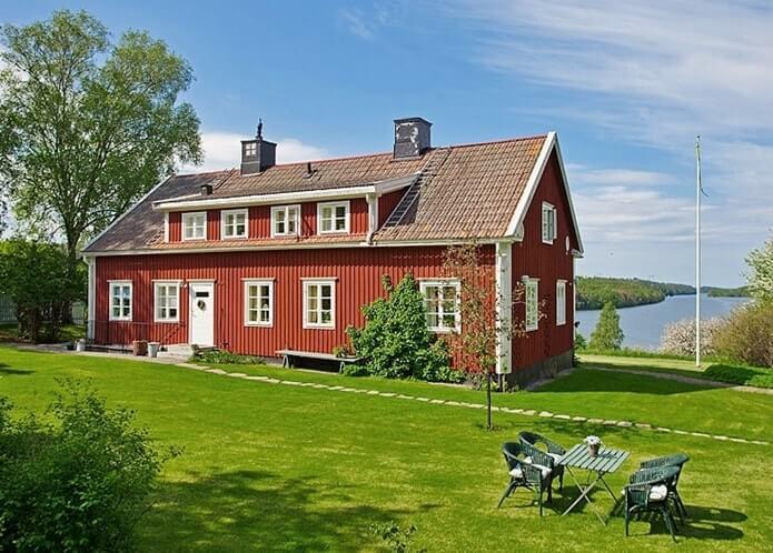 Дом в шведском стиле