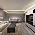 Интерьер гостиной в стиле минимализм (3)
